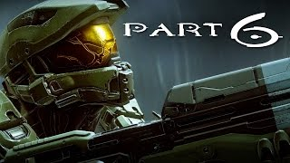 Halo 5 Guardians Walkthrough Part 6 - Mission 7 REUNION (Halo 5 Campaign Gameplay)