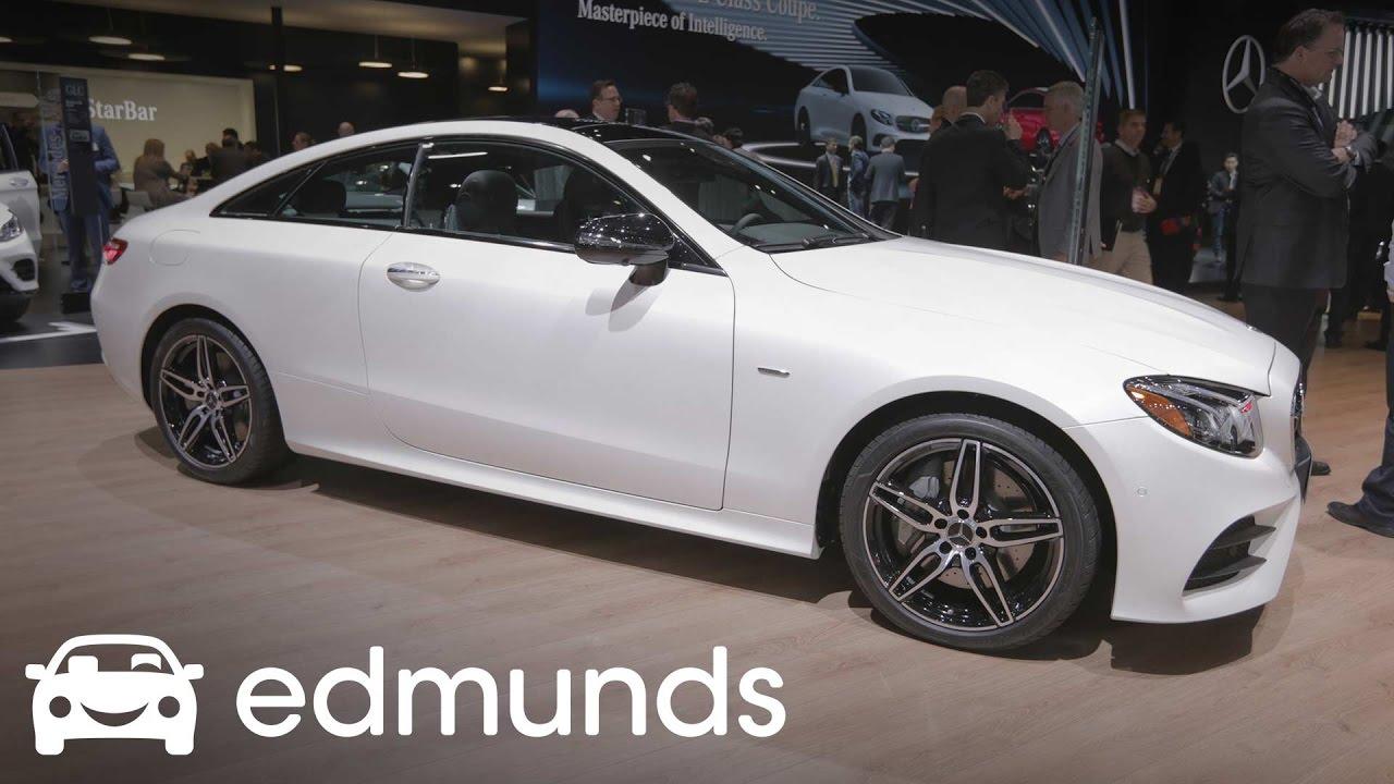 New 2018 MercedesBenz EClass Coupe First Look Review
