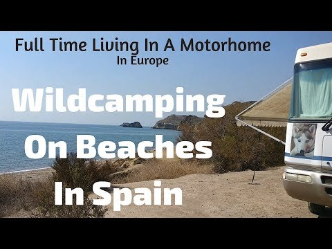 Motorhome Wild Camping On Beaches In Spain