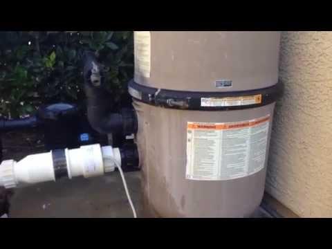 Hayward Pool Filter Bulkhead Union Leak