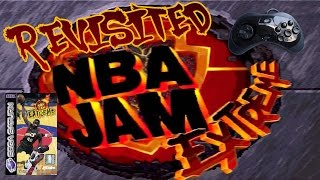 Revisited NBA Jam Extreme For The Sega Saturn   Classic Retro Game Room