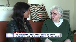Woman who needed computer help scammed out of thousand of dollars
