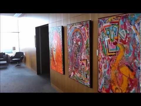 Art exhibition of Gerard de Jong at Hilton Copenhagen