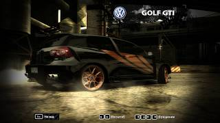 Need for Speed Most Wanted - Volkswagen Golf Gti Ring King - Race And Fun