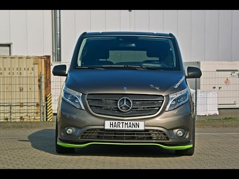 Hartmann Mercedes-Benz V-Class Vito, no AMG version but you really need this new kit