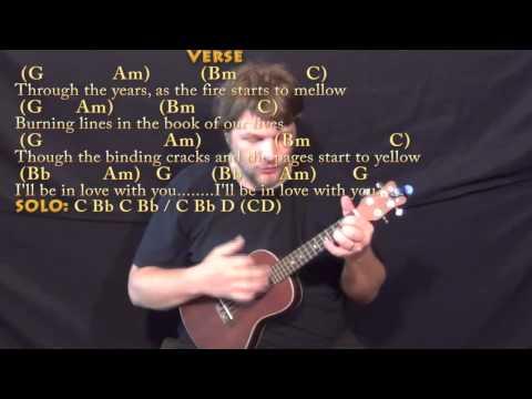 Longer (Dan Fogelberg) Ukulele Cover Lesson in G with Chords/Lyrics
