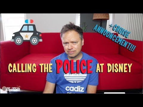 Cruise Announcement/Calling the Police at Disneyland - Sunday Storytime ep 14