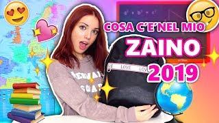 RITORNO A SCUOLA: Cosa c'è nel mio ZAINO 2019? | Back to school