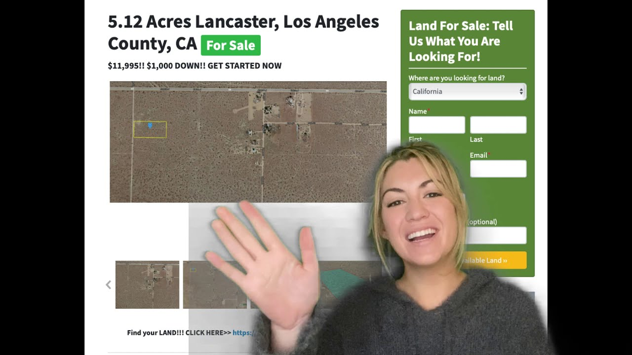 5.12 Acres Lancaster California Property – Property for Sale in Lancaster