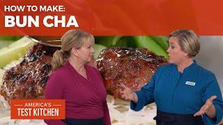 How to Make Bun Cha (Vietnamese Grilled Pork Patties)