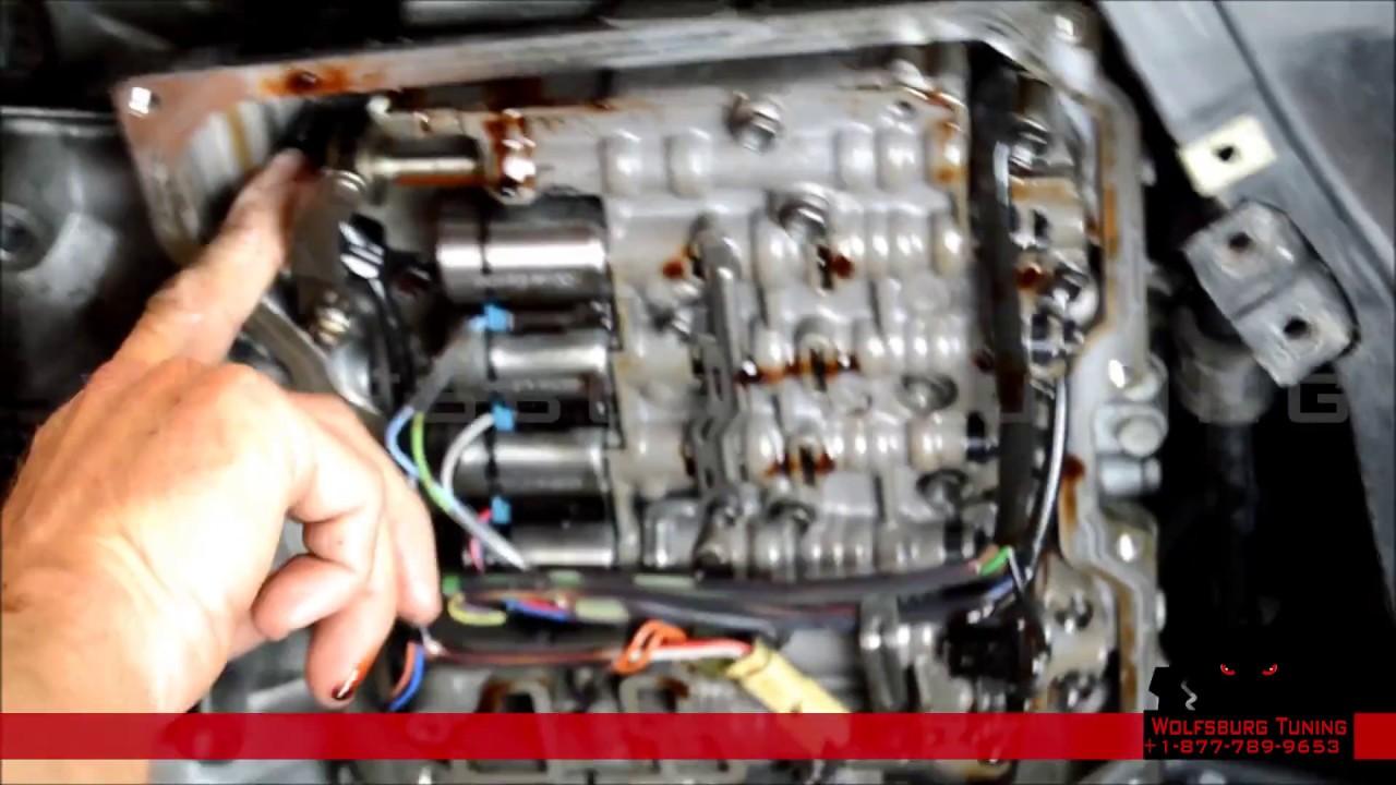 WolfsburgTuning  Audi & VW 09G Solenoids Installation