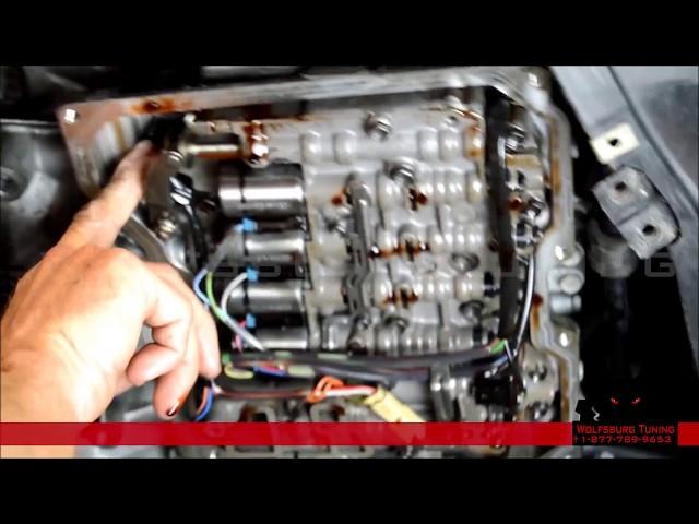 WolfsburgTuning.com - Audi & VW 09G Solenoids Installation