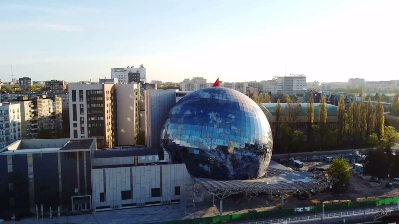Корпус музея мирового океана в городе Калининграде.