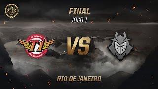 SKT x G2 (Final - Jogo 1) - MSI 2017