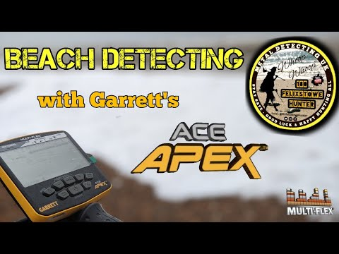 THIS IS DEFINITELY A BEACH MACHINE IN MY EYES! Treasure Hunting The Foreshore Using Garrett Ace Apex
