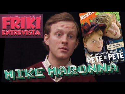 FRIKI ENTREVISTA  MIKE MARONNA  Recordando Las Aventuras de Pete & Pete