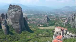 Greece Meteora(Видео по туру 10B XL Румыния, Болгария, Греция. Август 2012. Греция. монастыри Метеоры., 2013-03-14T12:44:35.000Z)