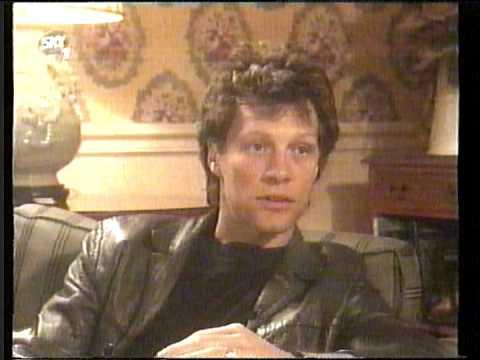 Jon Bon Jovi Interview Selina Scott Part 1