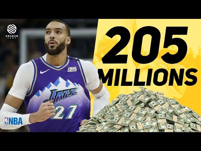 Rudy Gobert : la réalité des BIG contrats NBA.