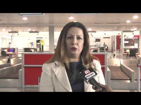 BALKAN EXPRESS Servizio A1 Report volo inaugurale Tirana-Pescara del 25/05/2015