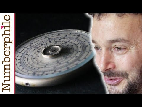 The iPhone of Slide Rules - Numberphile
