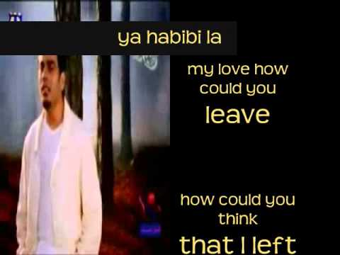 Amr Diab - Habibi translation in English   Musixmatch