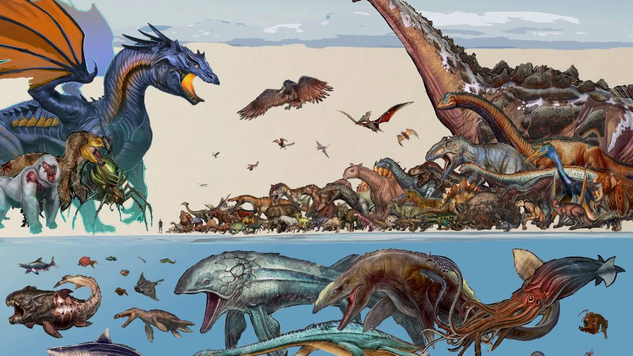 Ark Survival Evolved All Creature Size Scale All Creature Names