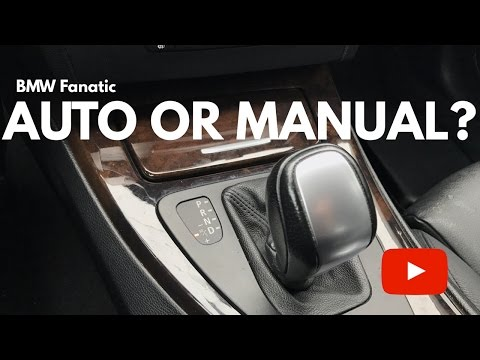 BMW N54 Automatic Or Manual Transmission?