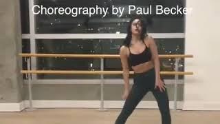Репетиция танца из сериала