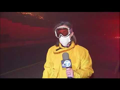 Wildfires have spread throughout southern California in Ventura County   12.5.17