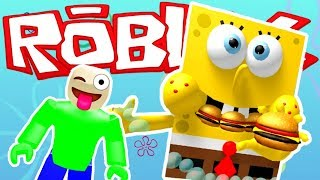 BIGGEST SPONGEBOB OBBY ON ROBLOX! | Spongebob Roblox Gameplay | Spongebob Adventure Obby
