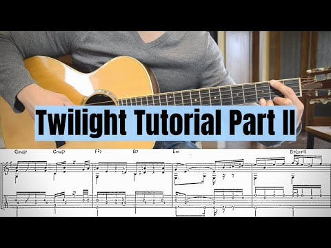 Twilight By Kotaro Oshio Tutorial Part 2