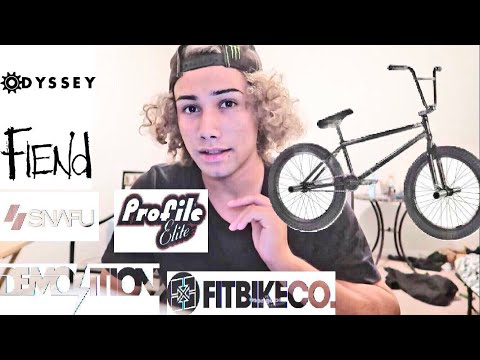 TOP 5 BEST BMX BIKE COMPANIES!