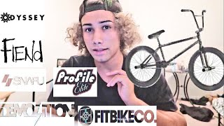 TOP 5 BEST BMX BIKE COMPANIES!