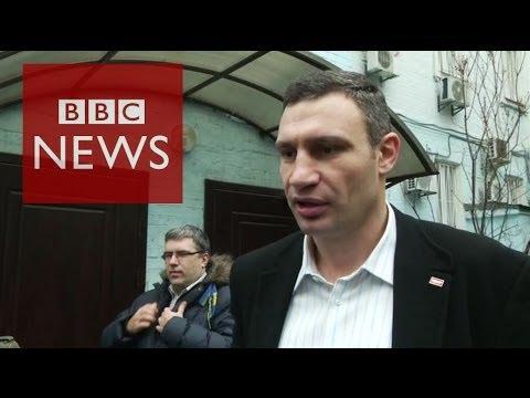Ukraine Crisis: Klitschko 'President Yanukovych has disappeared' - BBC News