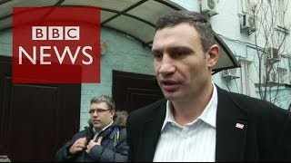 Ukraine Crisis: Klitschko