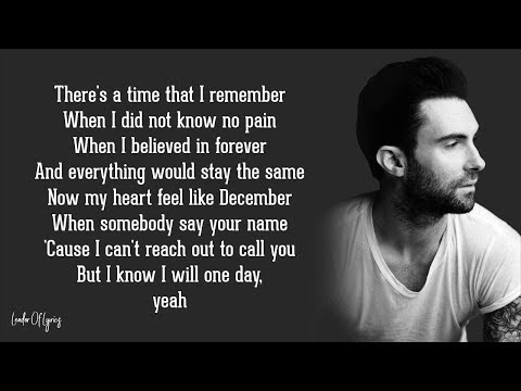 Maroon 5 - MEMORIES (Lyrics)