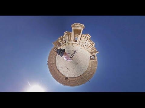 Видео 360: разрушенная