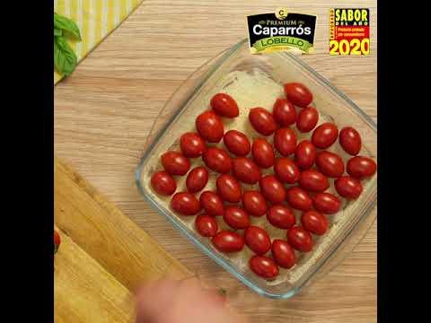 Tomate Lobello Caparrós Premium con queso de cabra