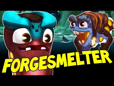 "FORGESMELTER ""TORCH"" Fight Fire with Fire !!  New Slug in Slugterra Slug it Out 2 !"