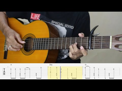 I Like You So Much, You'll Know It - Fingerstyle Guitar Tutorial TAB.