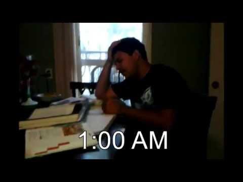Procrastinating homework
