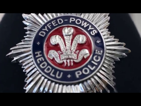Dyfed Powys Police Trailer