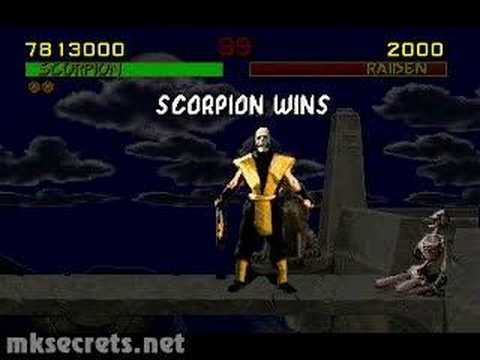 mortal kombat 1 scorpions fatality youtube