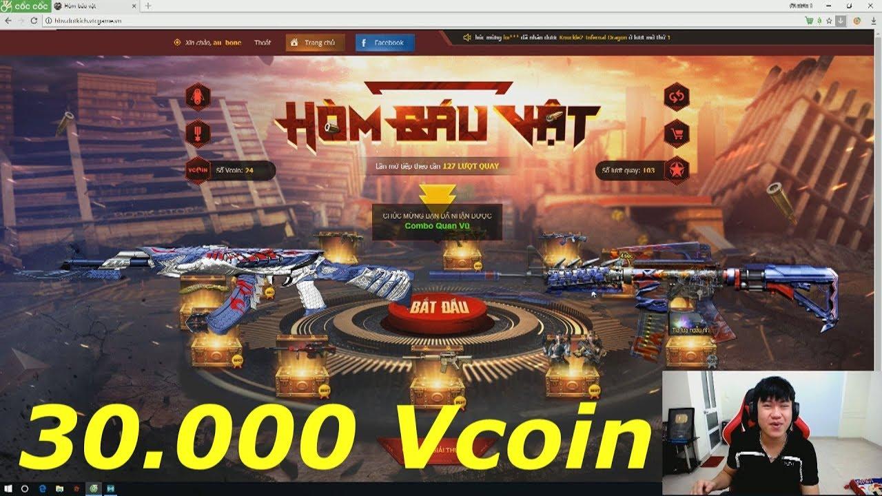 Quay hòm báu vật nhận Súng Prime với 30.000 vcoin – Tiền Zombie v4