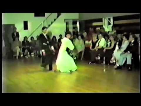Pierre Dulaine and Yvonne Marceau Dancing the Waltz