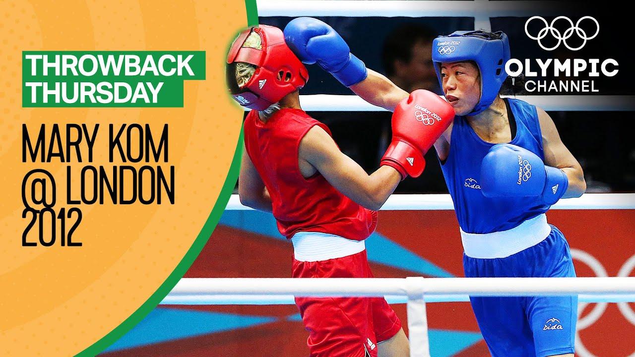 Mary Kom vs Maroua Rahali - Women's Boxing Quarter-Final | Throwback Thursday