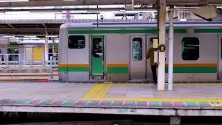 JR東日本 E231系車両 湘南新宿ライン 国府津行 大崎駅