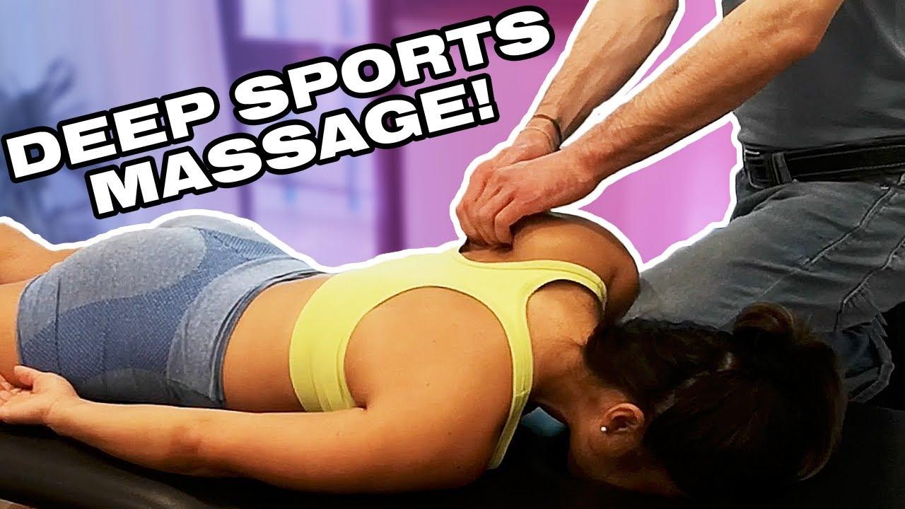 Deeply Satisfying ASMR Sports Massage