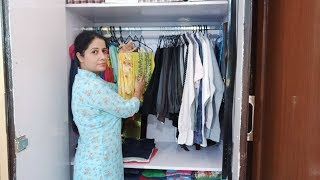 How To Organise Shared Closet||Indian Closet Organisation